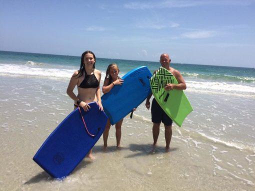 Poprvé ve vlnách Atlantiku