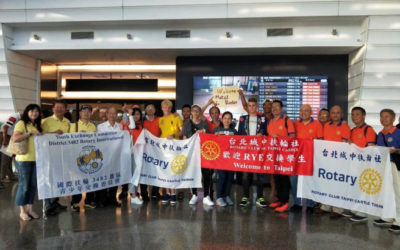 Príchod na Taiwan